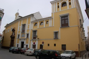 Fachada del hospital del Pozo Santo (Sevilla). Fuente: propia.