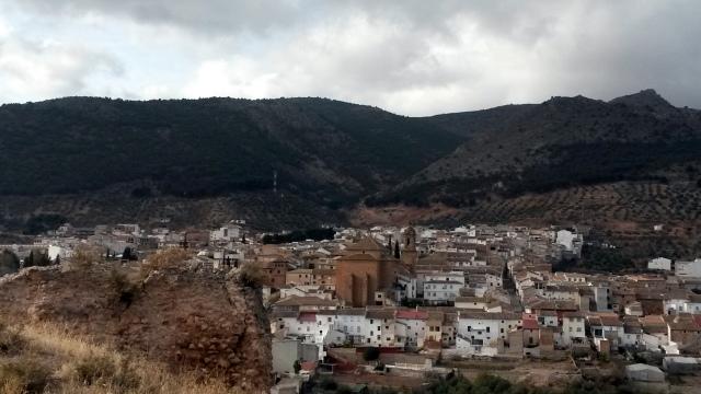 Restos del castillo Almohade. Fuente: propia