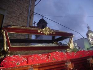 Procesión del Santo entierro. Fuente: propia.