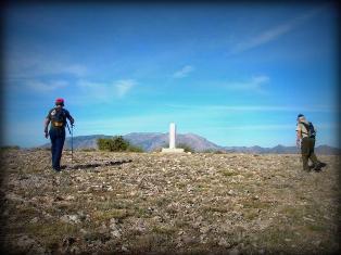 Vértice geodésico del Buitre (1433 m)