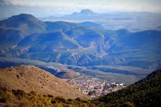 Vista de Cabra desde la Sierra Cruzada