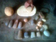Colección de objetos prehistóricos encontrados en Cabra