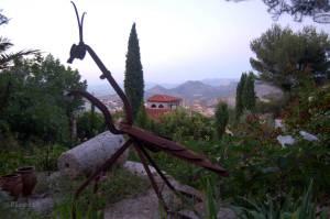 Jardines del estudio del escultor Rafael Rubio