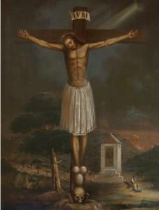 Cristo de Cabrilla del palacio del Marqués de la Rambla (Úbeda). Fuente: propia.