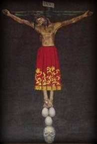 Cristo de Burgos de Agustín Cruz. 1985