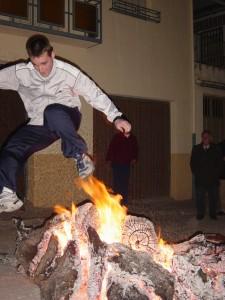 Noche de San Antón. Fuente: propia.