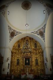 Crucero y retablo mayor. Fuente: propia.