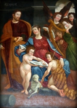 Cuadro de la Sagrada Familia s. XVI)