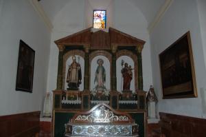 Capilla de San Blas. Fuente: propia.