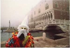 Carnaval de Venecia. Foto de Francisco Hidalgo.