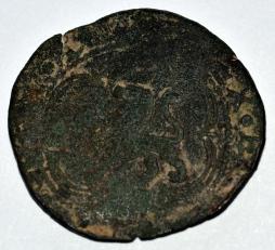 Blanca de Vellón de la época de Enrique III encontrada junto al cortijo de la Viña