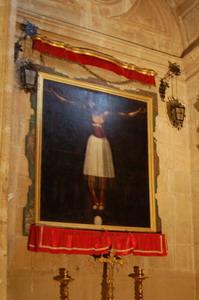 Catedral de Guadix. Cristo de Burgos. Fuente: propia.