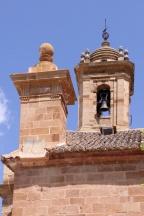 Campanario y reloj de sol. Fuente: Julio Cerdá.