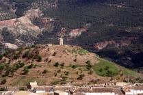 Las ruinas del castillo. Fuente: Julio A. Cerdá