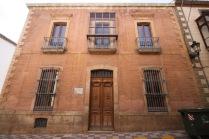 Fachada principal de la casa Cerdá y Rico. Fuente: Julio A. Cerdá