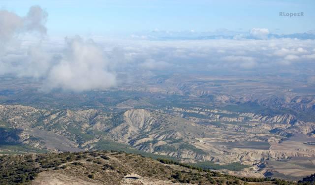 Las Ramblas y las tierras áridas situadas al Norte de Cabra