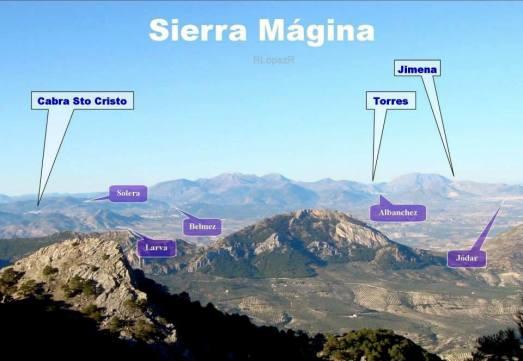 Mirada a la inversa... una vista de Sierra Mágina desde la Sierra de Cazorla