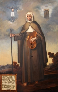 Retrato de la madre Marta de Jesús (copia del que hay en el hospital del Pozo Santo de Sevilla). Fuente: propia.