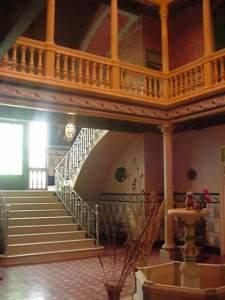Interior de la casa de los Olmedo. Fuente: propia.
