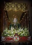 La virgen de los Dolores. Fuente: propia.