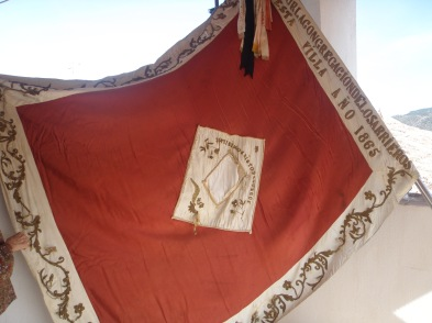 La bandera de Arrieros. Fuente: propia.