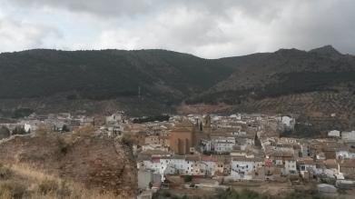 Castillo de Cabra. Restos del torreón Nor-Oeste. Fuente: propia.