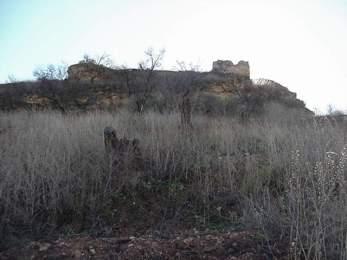 Castillo de Cabra. Lado Norte. Fuente Propia.