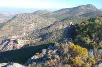Vistas hacia el Chantre y los Picones