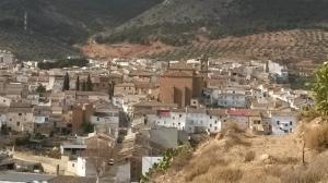 Vista de Cabra desde el cerro San Juan