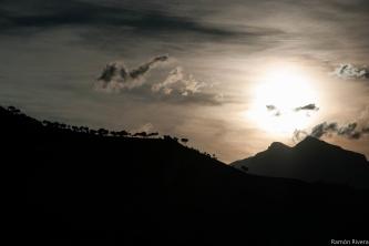 Atardecer en Sierra Mágina. Foto de Ramón Rivera Juárez.