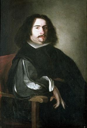 Retrato de Agustín Moreto realizado por Juan de Pareja hacia 1650. Se conserva en la Fundación Lázaro Galdiano (Madrid). Fuente: https://es.wikipedia.org/wiki/Agust%C3%ADn_Moreto
