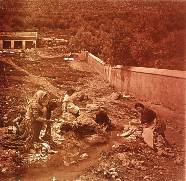 Lavadero de la Fuentezuela. Foto de Cerdá y Rico